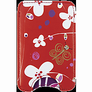 Iphone Pouch White Flower
