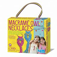 Macrame Owl Necklaces