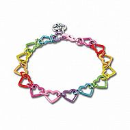Charm it! Rainbow Heart Link B