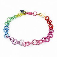 Charm it! Rainbow Chain Bracel