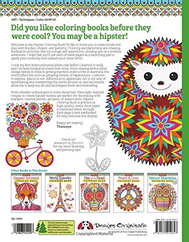 hipster - Hipster Coloring Book