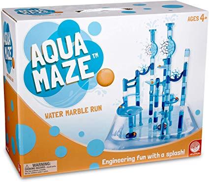 Large Aqua Twist Marble