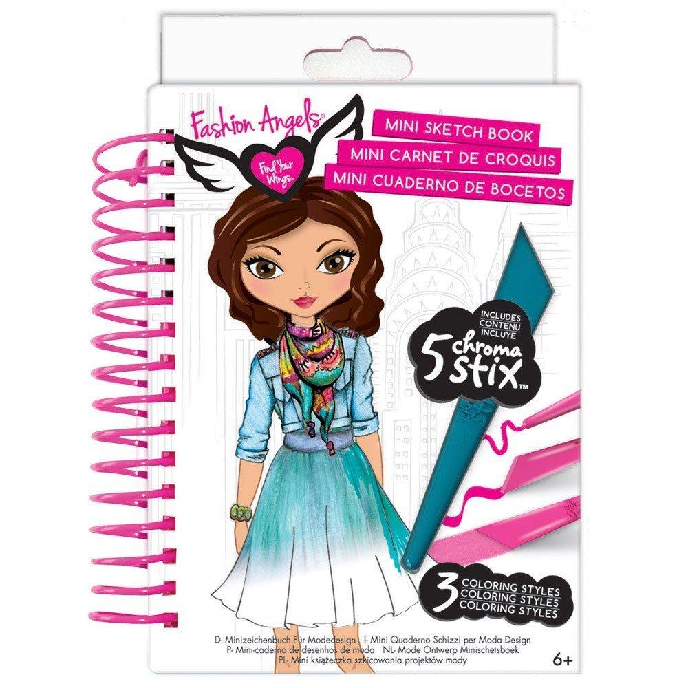 Mini Fashion Design Sketchbook Brains N Motion
