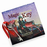 Magic Christmas Key Book With Key