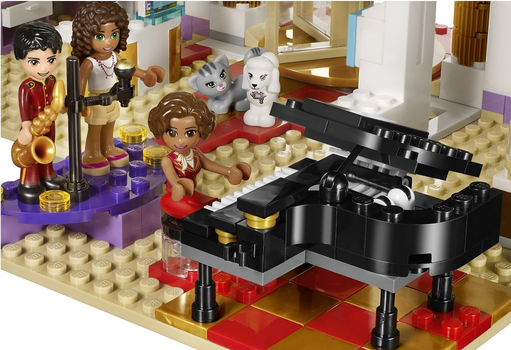 Lego Friends Heartlake Grand Hotel Brains N Motion