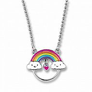 Rainbow Charm Catcher Necklace