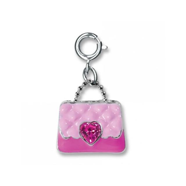 Pink Purse Charm