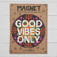 Magnet Good Vibes Only