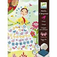 Flower Maiden Stamp Set