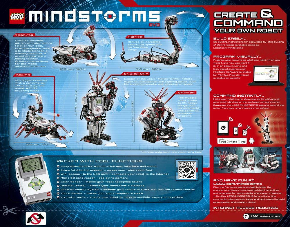 LEGO Mindstorms 2014 EV3 V42 - Brains 'N Motion