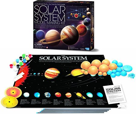 3D Solar System Mobile Kit - Brains 'N Motion