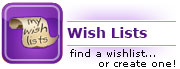 gift registry and wish list